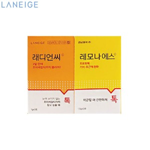 [mini] LANEIGE Radian-C X Lemona Collaboration Sample 2items,Beauty Box Korea