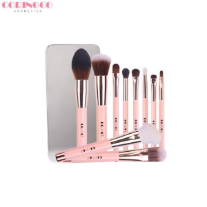 CORINGCO Basic Magnetic Make-Up Brush Set 10items