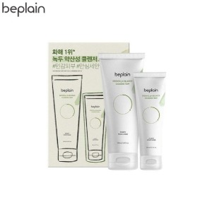 BE PLAIN Greenful pH-Balanced Cleansing Foam Jumbo Size Special Set 2items