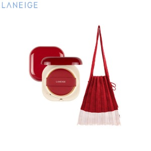 LANEIGE Stacey (Neo Cushion Matte 21N + Lucky Pleats Knit M) Set 2items [LANEIGE X JOSEPH&STACEY BFF Edition]