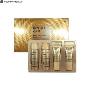 [mini] TONYMOLY Intense Care Gold 24K Snail Special Kit 4items,Beauty Box Korea