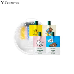 VT B&F Cica Travel Kit 4items [VT X LINE FRIENDS]