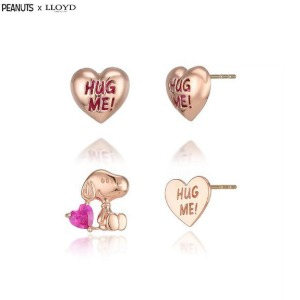LLOYD X PEANUTS 10K Earrings 1pair