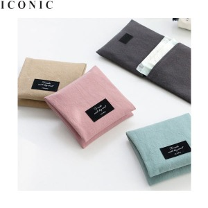 ICONIC Plain secret pouch v.2 1ea,Beauty Box Korea
