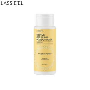 LASSIE'EL Enzyme Oat Scrub Powder Wash 50g