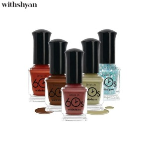 WITHSHYAN 60s Nail Lacquer 9ml