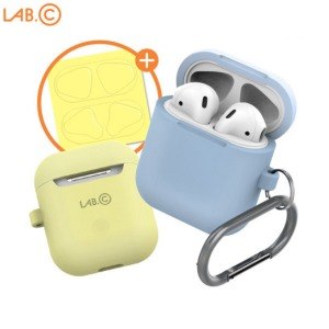LAB C Airpods Capsule Keyring Silicon Case Package 1ea,Beauty Box Korea