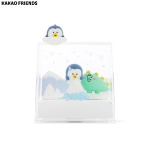KAKAO FRIENDS Jordy Square Type Water Globe 1ea