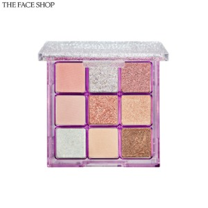 THE FACE SHOP Fmgt Glitter Universe Monopop Eyeshadow Palette 1.2g*9colors