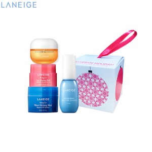[mini] LANEIGE Best Sellers Trial Kit 4items[Celebrate Holiday! 2020 Holiday Collection],Beauty Box Korea