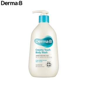 DERMA:B Creamy Touch Body Wash 400ml