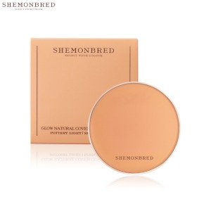 SHEMONBRED Glow Natural Cover Cushion SPF50+ PA++++ 10g