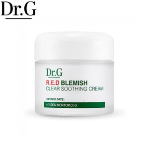 DR.G RED Blemish Clear Soothing Cream 70ml,Beauty Box Korea
