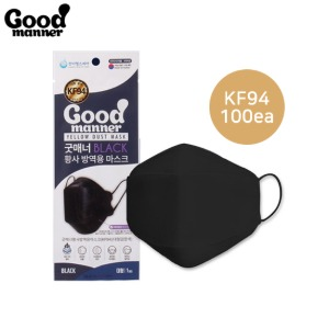 GOOD MANNER Yellow Dust Mask KF94 #Large 100ea