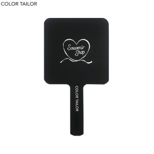 COLOR TAILOR Mini Square Mirror 1ea [COLOR TAILOR X MARGARIN FINGERS 2020 Winter Season Souvenir Shop Collection],Beauty Box Korea