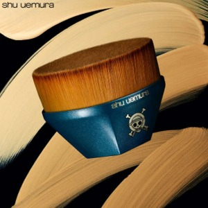 SHU UEMURA X ONE PIECE Collection Petal 55 Foundation Brush 1ea [Holiday Edition]