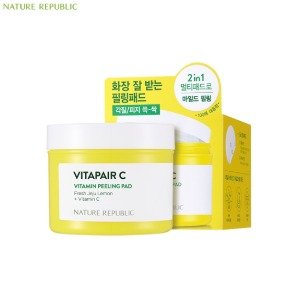NATURE REPUBLIC Vitapair C Vitamin Peeling Pad 100ea 280ml
