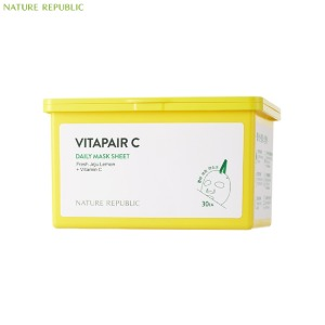 NATURE REPUBLIC Vitapair C Daily Mask Sheet 30ea 350ml