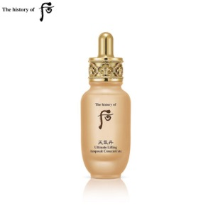 THE HISTORY OF WHOO Cheongidan Ultimate Lifting Ampoule Concentrate 30ml