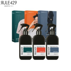 HAZZYS MEN RULE429 Body Perfume Gun Special Set 2items