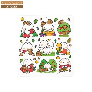 STUDIO FONDUE Mayo Sticker 1ea,Beauty Box Korea