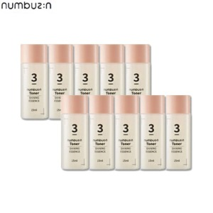 [mini] NUMBUZIN Number Toner 15ml*10ea,Beauty Box Korea