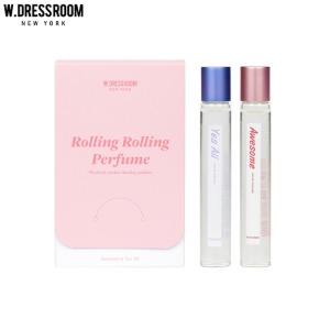 W.DRESSROOM Rolling Rolling Roll-On Perfume 10ml*2ea
