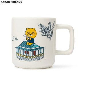KAKAOFRIENDS Ryan X Fritz Edition Retro Mug 1ea