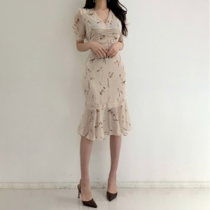 FLIPPED Flower Dress 1ea