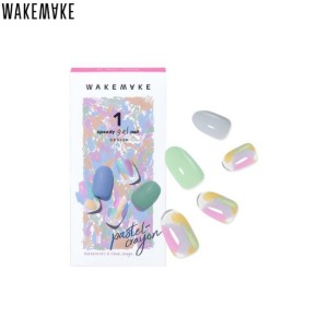 WAKEMAKE Speedy Gel Nail 1ea [Pastel Crayon Collection]