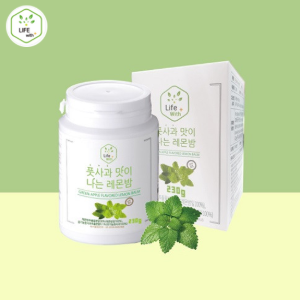 LIFE WITH Green Apple Flavored Lemon Balm 230g