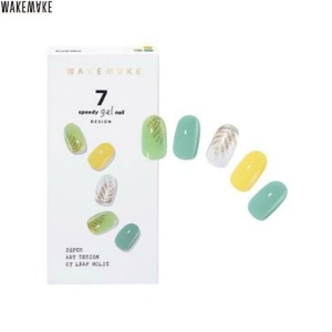WAKEMAKE Speedy Gel Nail 1Set [Design]
