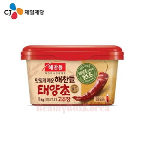 CJ Haechandle Red Pepper Paste Made of Rice Gold 1kg,CJ