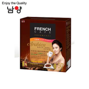 NAMYANG French Cafe Coffee Mix Arabica Gold Label 11.5g x 50 Sticks,NAM YANG