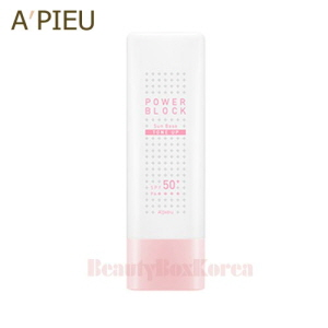 A'PIEU Power Block Tone Up Sun Base (Pink) SPF50+PA++++ 50ml,A'Pieu