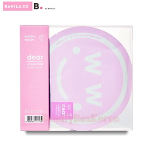 BANILA CO. Dear Hydration Sheet Mask 27ml*5ea,BANILA CO.