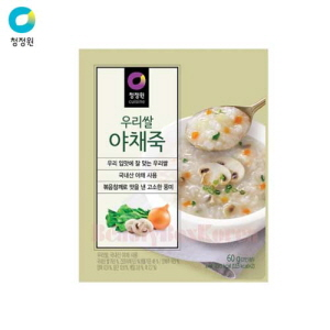 CHUNGJUNGONE Vegetable Korean Rice Porridge 60g*10ea,CHUNG JUNG ONE