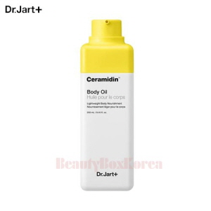 Dr.JART+ Ceramidin Body Oil 250ml,Dr.JART