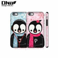 DESIGN NALALI 2Items Pam&Jim Sweater Double Cover Hard Phone Case,DESIGN NALALI