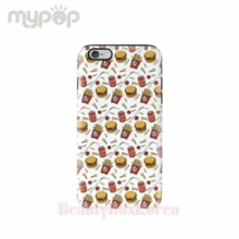 MYPOP 2Items Hambuger Tough Phone Case,MYPOP
