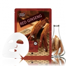MAY ISLAND Real Essense Red Ginseng Mask Pack 25ml,MAYISLAND