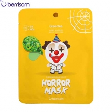 BERRISOM Horror Mask 25ml [Black rice, Green tea],Berrisom