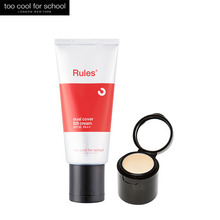 TOO COOL FOR SCHOOL Rules Dual Cover BB Cream SPF 30 Pa++ 50ml (with Concealer 1.5g),TOO COOL FOR SCHOOL
