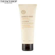 THE FACE SHOP Mango Seed Cleansing Foam 150ml,THE FACE SHOP