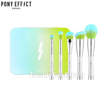 PONY EFFECT Mini Magnetic Brush Set #Prism Effect [Limited],PONY EFFECT