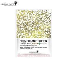 NATURALPACIFIC 100% Organic Cotton Sheet Mask 25g,NATURALPACIFIC