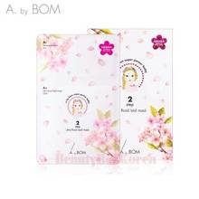 A. BY BOM Ultra Floral Leaf Mask A1 6ml+A2 25ml 5ea(1box),A. BY BOM