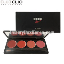 [mini] CLIO Rouge Heel Lip Palette 1g*4colors,CLIO