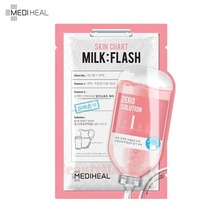 MEDIHEAL Zero Solution Skin Chart Milk Flash Mask 25ml,MEDIHEAL