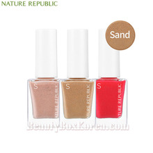 NATURE REPUBLIC Color&Nature Nail Color 8ml [Sand],NATURE REPUBLIC